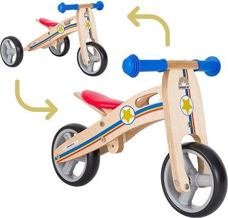 Le 5 migliori biciclette in legno senza pedali per bambini e neonati 2