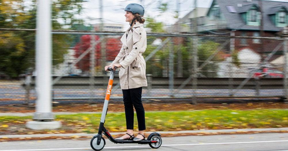 Sicurezza stradale degli scooter elettrici 1