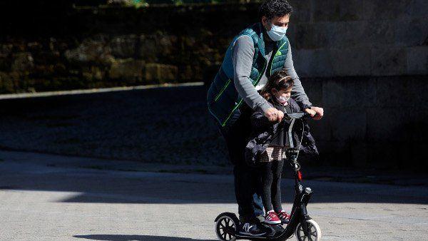 È obbligatorio indossare una mascherina su uno scooter o una bicicletta? 3