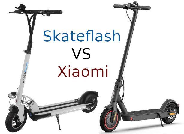 SkateFlash vs Xiaomi Scooters: qual è meglio? 2021 confronto 1